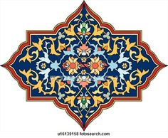 Arabesque Designs (page - stock illustration clip art. Buy royalty free clipart images on disc by Lushpix Illustration. Islamic Art Pattern, Arabic Pattern, Pattern Art, Arabesque Design, Arabesque Pattern, Islamic Calligraphy, Calligraphy Art, Motif Oriental, Persian Pattern