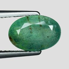 Other Emeralds 164398: 2.36Cts Green Oval Emerald Natural Loose Gemstone -> BUY IT NOW ONLY: $70.8 on eBay!
