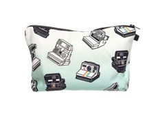 Beauty Case, borsa da viaggio, borsetta da toilette sacco sacchetto bagno per cosmetici trucco make up motivi diversi, Kosmetiktasche KT-002-050:KT-034 polaroid telecamera EURO 7,99