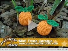 frutas em croche - Google Search