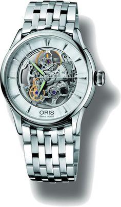 Oris Artelier Skeleton #luxurywatch #Oris-swiss Oris Swiss Watchmakers  Pilots Divers Racing watches #horlogerie @calibrelondon