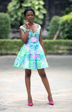 Summer Dress  Dress: Debra's Grace| Shoes: Konga|Necklace: Mr Price| Headband:Vintag The Dramatic Pen