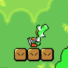 This graphic shows how pixels create a graphic and contribute to the overall image. In this picture of Yoshi from Nintendo 64, the pixel dimensions are smaller than that of an image generated today. A graphic with a larger pixel dimension has greater resolution and creates a better quality picture. I've seen some instances where media uses smaller pixel dimension pictures to create a retro visual element that attracts a certain aesthetic.
