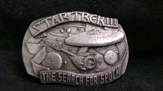 Vintage Star Trek The Search for Spock Belt by BeltBuckleQueen, $36.00