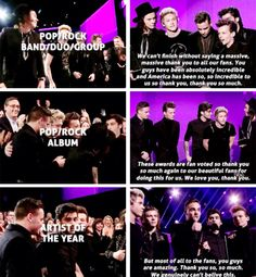 Pop/Rock Band, Duo, or Group & Pop/Rock Album & Artist of the Year
