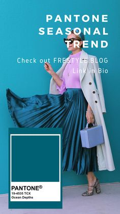 We put together this season's trending colors: Rose Dawn, Harvest Gold, Ocean Depths, and Ethereal Blue, and the best fashion items for this summer.