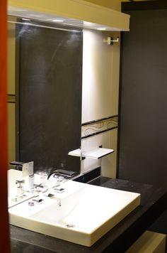 Baño del dormitorio principal, grifería y artefactos sanitarios tope de gama