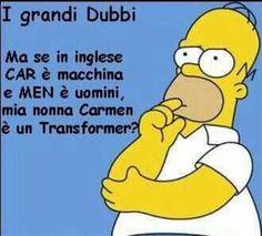 I dubbi di Homer!