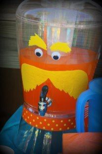 Drinks at a Lorax Party #lorax #partydrinks