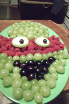 TMNT fruit tray