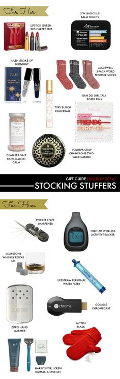 Holiday gift guide 2014: stocking stuffers