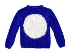 Exklusiv für BRIGITTE Kreativ hat die Berliner Designerin Maike Dietrich von Maiami diesen Pullover mit Kreis entworfen. Das Strickmuster zum Nachmachen.
