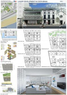 [A3N] : Luxury Housing Development Competition ( Costa Brava ) / ( Fifth Classified : Architrend Architecture )