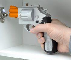 Gun revolver screw driver automatic