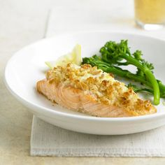 Herbed Cheese-Stuffed Salmon To prepare this main dish recipe, a pocket is cut all the way through the fish that encases semi-soft garlic and herb cheese.