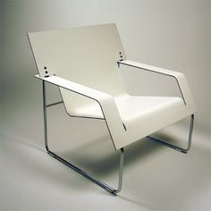 """""""Wide chair"""", designed by Aleksi Penttilä, who is part of the Finnish design collective Rehti."""