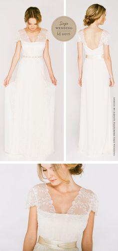 I basically love this whole collection of Saja Wedding Dresses