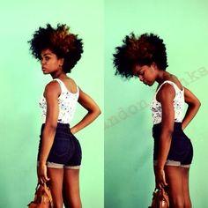 tapered natural hair | Natural Hair