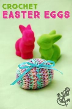 Szydełkowe Pisanki - Crochet Easter Eggs Polish