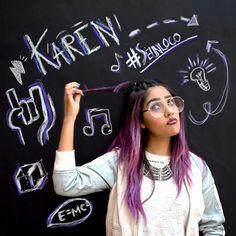 Quiero una maestra llamada Karen Polinecia➗