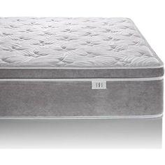 foam mattress walmart. Modren Walmart Brentwood Home Posture Plus Hybrid Eurotop Gel Infused Memory Foam And  Innerspring Mattress To Walmart
