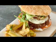 Kimchi, Cilantro, Carne Picada, Hamburger, Sandwiches, Chicken, Videos, Ethnic Recipes, Youtube