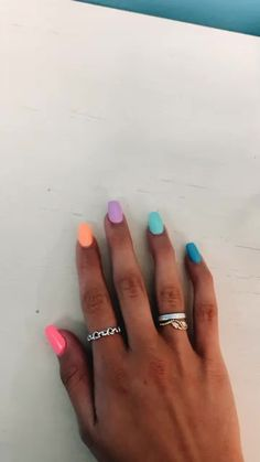In seek out some nail designs and ideas for your nails? Here is our listing of must-try coffin acrylic nails for fashionable women. Simple Acrylic Nails, Summer Acrylic Nails, Best Acrylic Nails, Simple Nails, Colorful Nails, Colorful Nail Designs, Multicolored Nails, Metallic Nails, Short Nail Designs
