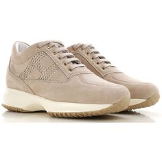 Hogan Shoes and Sneakers from the Latest Collection. Hogan Women's Shoes are available online in a wide selection at the Raffaello Network Store. Fashion Details, Fashion Design, Winter Sale, Suede Leather, Lace Up, Heels, Sneakers, Women, Style