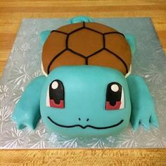 squirtle cakes - Google Search                                                                                                                                                                                 More