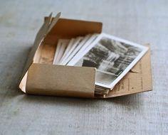 postcards packaging