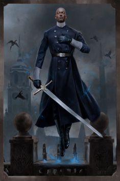 Fantasy Male, High Fantasy, Fantasy Warrior, Fantasy Rpg, Dark Fantasy Art, Fantasy Artwork, Fantasy Character Design, Character Design Inspiration, Character Concept