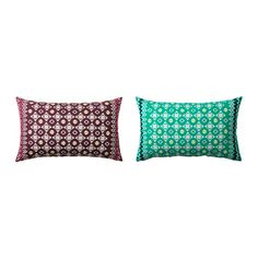 Pink Lombard Pillow  JASSA Cushion cover IKEA The zipper makes the cover easy to remove.