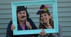 Photo booths are the one trend that I don't think I'll ever grow tired of. I'm pretty much of the mindset that every party needs one. Goof...