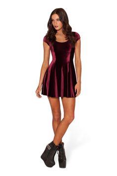Velvet Mulled Wine Evil Cheerleader 2.0 › Black Milk Clothing