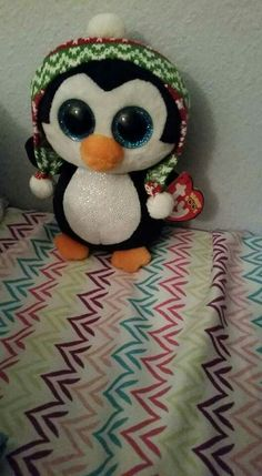 d2d35da16a5 Ty Beanie Boos Penelope the penguin this is the hundred thirtieth of the ty  beanie boos that I own .