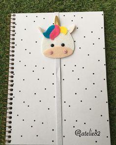 Foam Crafts, Diy Arts And Crafts, Cute Crafts, Crafts For Kids, Felt Gifts, Diy Gifts, Bookmarks Diy Kids, Market Day Ideas, Felt Bookmark