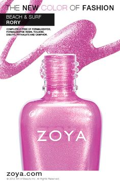 RE-PIN ME! Zoya Nail Polish in Rory from the Surf Collection http://www.zoya.com/content/38/item/Zoya/Zoya-Nail-Polish-Rory-ZP620.html?O=PN120521MN00143