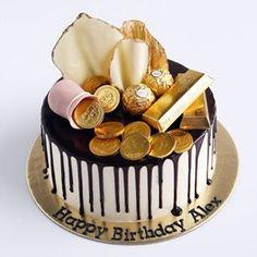 Choco drip cake 🍫 .  .  .  .  .  .    #buttercream #buttercreamcake #cakestagram #instacake #lilbitesid #ciakholiao #kulinermedan #cakecakecake #foodphotography #food52 #f52grams #birthdaycake #foodgawker #buzzfeast #eeeeeats #eatandtreats #sgbakes #goodeats #homebaked #huffposttaste #hidupuntukmakan #makanmana #nomnom #vscocam #bonappetit #wiltoncakes #yahoofood #onthetable #cakedecorating #thekitchn