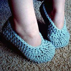 Chaussons en crochet