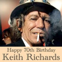 December 18, 2013. Happy Birthday to musician, and most notably, Rolling Stones guitarist Keith Richards who turned 70 today. #deepcor #rollingstones #guitarist #keithrichards #music #rockandroll #entertainment