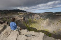 Another side of this #paradise - rugged #volcano views