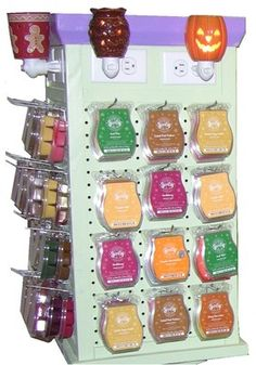 Spinning-Scentsy-Display-for-Plug-ins-bars-etc
