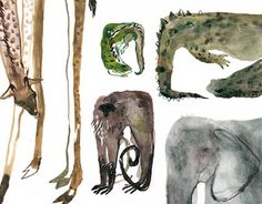 """Check out new work on my @Behance portfolio: """"Zoo"""" http://be.net/gallery/51887109/Zoo"""