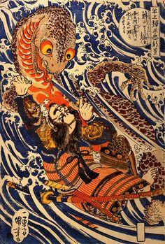 japon-estampe-bois-Utagawa-Kuniyoshi-15