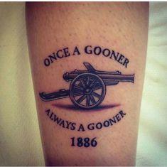 Once a Gooner Always Gooner, Aubameyang Arsenal, Arsenal Players, Tattoos For Guys, Cool Tattoos, Tatoos, Weed Tattoo, I Tattoo, Arsenal Tattoo, Mass Effect Tattoo