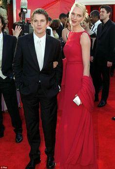 Uma Thurman Oscars 2000