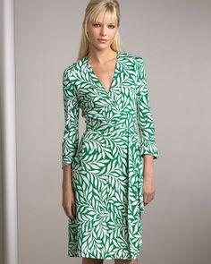 wrap dress diane von furstenberg - Google Search