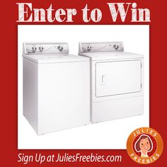 Facebook Twitter PinterestHere is an offer where you can enter to win the Speed Queen Washer and Dryer February Giveaway PRIZES – (1) Grand Prize – Speed Queen washing machine and one (1) Speed Queen Gas or Electric dryer. ENTRY – Daily Entry. ENDING – February 26, 2017 (11:59 pm.) ENTER HERE