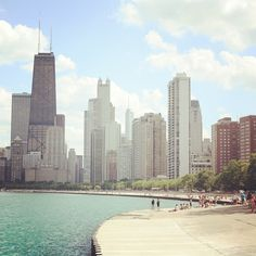 Summertime in Chicago.