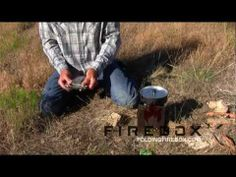 The Folding Firebox ... Best Folding Camp Stove / No Trace Campfire / Prepper Gear